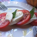 Caprese Con Mozzarella Di Bufala (Mozzarella, Tomato, Basil