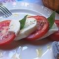 Caprese Con Mozzarella Di Bufala (Mozzarella, Tomato, Basil