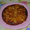 Caramelized Pear And Ginger Upside Down Cake