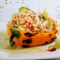 Caribbean Crab Salad in Roasted Peppers