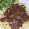 Carne Asado (Mexican Style Beef Tips and Gravy)