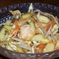 Carrot-Cucumber Sambal with Chicken