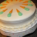 Carrot-pineapple Cake with Apricot Cream Frosting