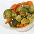 Carrots and Brussel Sprouts