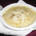 Cauliflower and Chicken Soup