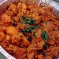 Cauliflower and Potatoes (Aloo Gobi)