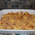 Cauliflower Ham & Cheese Bake