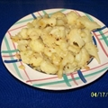 Cauliflower with Sauted Garlic and Red Pepper Flakes