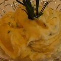 Cheddar-jack Whipped Potatoes with Chives
