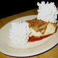 Cheesecake Factory Warm Caramel-Topped Apple Cheesecake