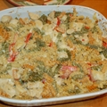 Cheesy Chicken Tetrazzini