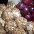 Cheesy Nutty Grapes