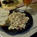Chicken and Bowtie Pasta with Asiago Cream Sauce