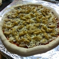 Chicken Artichoke Pizza