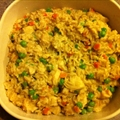 Chicken-Mushroom Risotto