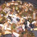 Chicken Nachos Grilled