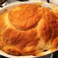 Chicken or  Turkey  Pot Pie with  Biscuit  Crust