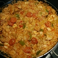 Chicken, Prawn & Chorizo Jambalaya