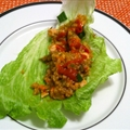 Chicken Quinoa Lettuce Wraps