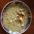 Chicken Soup Thai style