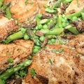 Chicken with Morels and Veggies