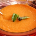 Chilled Creamy Carrot Soup