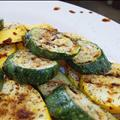 Chilled Grilled Summer Squash with Balsamic Dressing