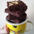 Choco Nutella brownies