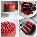 Chocolate and Raspberry Supreme Cake