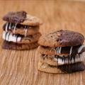 Chocolate Dipped Macadamia Nut Shortbread Cookies