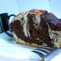 Chocolate Marble Cake - Lowfat