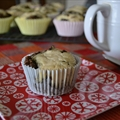 Chocolate Mint Cream Cheese Muffins