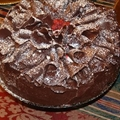 Chocolate Ruffle Cake Pt1