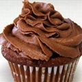 Chocolate Sour Cream Cupcakes with Chocolate Buttercream