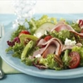 Chopped Salad with Ham and Goat Cheese