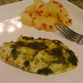 Cilantro-chipotle Tilapia