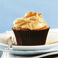 Cinnamon Buttermilk Cupcakes with a Cinnamon and Creme Fraiche Butter Icing