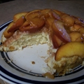 Cinnamon Peach Shortcake