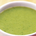 Coco Cream of Broccoli and Zucchini Soup