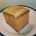 Coconut Butter Cake with Coconut Frosting