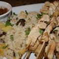 Coconut Marinated Chicken Satay