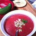 Cold Tomato and Cucumber Soup