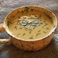 Cold Zucchini Soup with Curry