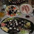 Complete Mediteranian Sushi Meal