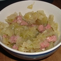 Corned Beef cabbage and Rice