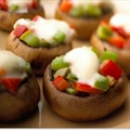 Crème De Brie Stuffed Mushrooms