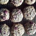 Cran-Nut Honey Drop cookies