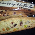Cranberry and Pistachio Biscotti