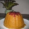 Cranberry and Pumpkin Steamed Pudding