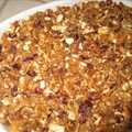 Cranberry Pretzel Sweet Potato Mash (Version 1 - Uses Canned)